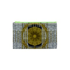 Silver And Gold Is The Way To Luck Cosmetic Bag (xs) by pepitasart