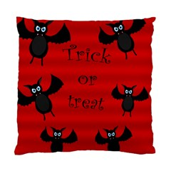 Halloween Bats  Standard Cushion Case (two Sides) by Valentinaart