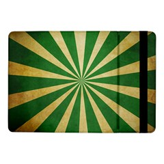 Colored Vintage Samsung Galaxy Tab Pro 10 1  Flip Case by AnjaniArt