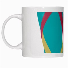 Flip Flop Slippers Copy White Mugs by AnjaniArt