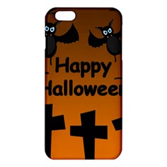 Happy Halloween   Bats On The Cemetery Iphone 6 Plus/6s Plus Tpu Case by Valentinaart