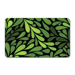Free Green Nature Leaves Seamless Magnet (rectangular) by AnjaniArt
