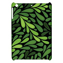 Free Green Nature Leaves Seamless Apple Ipad Mini Hardshell Case by AnjaniArt