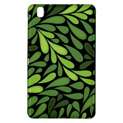 Free Green Nature Leaves Seamless Samsung Galaxy Tab Pro 8 4 Hardshell Case by AnjaniArt