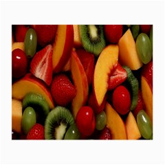 Fruit Salad Small Glasses Cloth by AnjaniArt