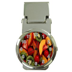 Fruit Salad Money Clip Watches by AnjaniArt