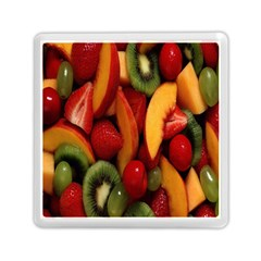 Fruit Salad Memory Card Reader (square)  by AnjaniArt