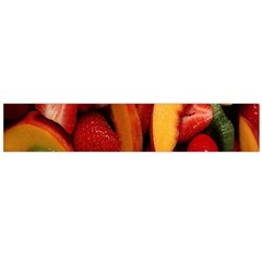 Fruit Salad Flano Scarf (large) by AnjaniArt