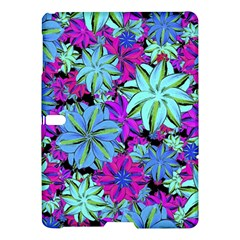 Vibrant Floral Collage Print Samsung Galaxy Tab S (10 5 ) Hardshell Case  by dflcprints