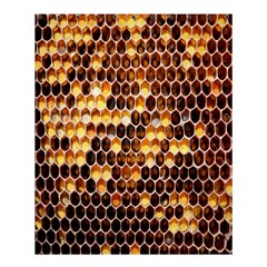 Honey Honeycomb Jpeg Shower Curtain 60  X 72  (medium)  by AnjaniArt
