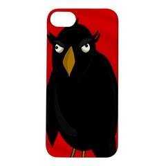Halloween   Old Raven Apple Iphone 5s/ Se Hardshell Case by Valentinaart