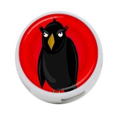 Halloween   Old Raven 4 Port Usb Hub (one Side) by Valentinaart