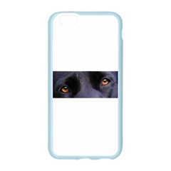 Black Lab Eyes Apple Seamless iPhone 6/6S Case (Color) by TailWags