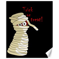 Halloween Mummy   Canvas 16  X 20   by Valentinaart