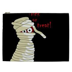 Halloween Mummy   Cosmetic Bag (xxl)  by Valentinaart