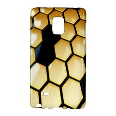 Honeycomb Yellow Rendering Ultra Galaxy Note Edge by AnjaniArt