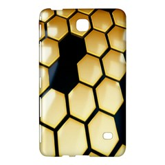 Honeycomb Yellow Rendering Ultra Samsung Galaxy Tab 4 (7 ) Hardshell Case  by AnjaniArt