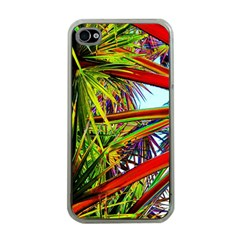 Kostenloses Leaves Apple Iphone 4 Case (clear) by AnjaniArt
