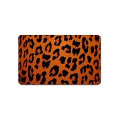 Leopard Patterns Magnet (name Card) by AnjaniArt