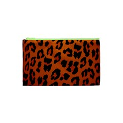 Leopard Patterns Cosmetic Bag (xs) by AnjaniArt