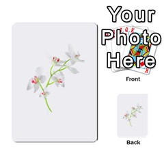 Isolated Orquideas Blossom Multi Purpose Cards (rectangle)  by dflcprints