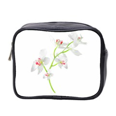 Isolated Orquideas Blossom Mini Toiletries Bag 2 Side by dflcprints
