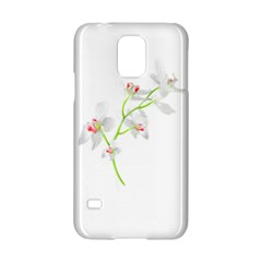 Isolated Orquideas Blossom Samsung Galaxy S5 Hardshell Case  by dflcprints