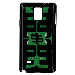 Show Me The Money Samsung Galaxy Note 4 Case (black) by MRTACPANS