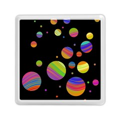 Colorful Galaxy Memory Card Reader (square)  by Valentinaart