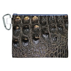 Texture Gator Skin Canvas Cosmetic Bag (XXL) by Zeze