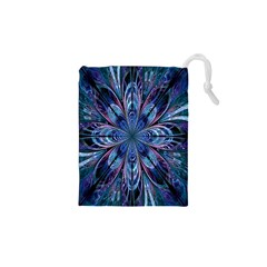 The Flower Of Life Drawstring Pouches (XS)  by Zeze