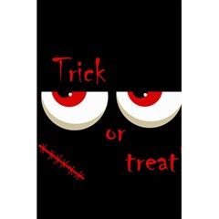 Halloween  trick Or Treat    Monsters Red Eyes 5 5  X 8 5  Notebooks by Valentinaart