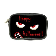 Happy Halloween   Red Eyes Monster Coin Purse by Valentinaart