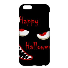 Happy Halloween   Red Eyes Monster Apple Iphone 6 Plus/6s Plus Hardshell Case by Valentinaart