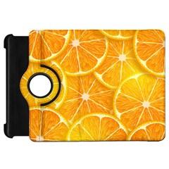 Orange Copy Kindle Fire Hd Flip 360 Case by AnjaniArt
