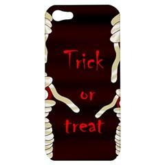 Halloween Mummy Apple Iphone 5 Hardshell Case by Valentinaart