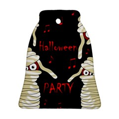 Halloween Mummy Party Bell Ornament (2 Sides) by Valentinaart