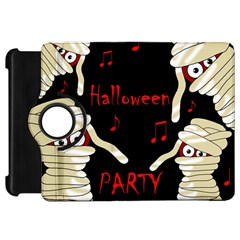 Halloween mummy party Kindle Fire HD Flip 360 Case by Valentinaart