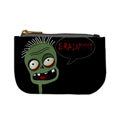 Halloween Zombie Mini Coin Purses by Valentinaart