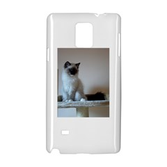 Ragdoll Kitten Samsung Galaxy Note 4 Hardshell Case by TailWags