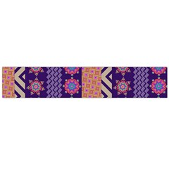 Colorful Winter Pattern Flano Scarf (large) by DanaeStudio