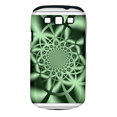 Wave Pattern Samsung Galaxy S III Classic Hardshell Case (PC+Silicone) by Zeze
