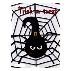 Halloween Cute Spider Apple Ipad 3/4 Hardshell Case by Valentinaart