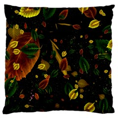 Autumn 03 Large Cushion Case (two Sides) by MoreColorsinLife