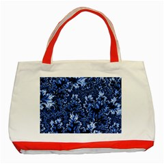 Amazing Fractal 31 D Classic Tote Bag (red) by Fractalworld