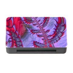 Freaky Friday Red  Lilac Memory Card Reader With Cf by Fractalworld
