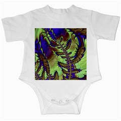 Freaky Friday, Blue Green Infant Creepers by Fractalworld