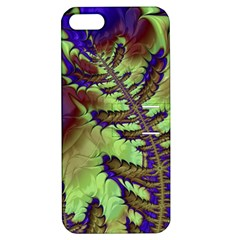 Freaky Friday, Blue Green Apple Iphone 5 Hardshell Case With Stand by Fractalworld