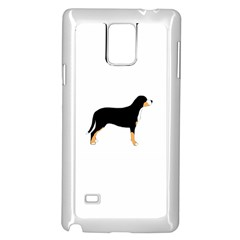 Gsmd Silo Color Samsung Galaxy Note 4 Case (White) by TailWags