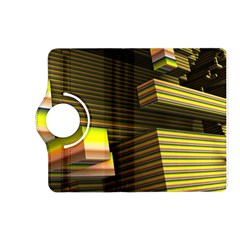Cubic Blocks Abstract Cube Kindle Fire HD (2013) Flip 360 Case by Zeze
